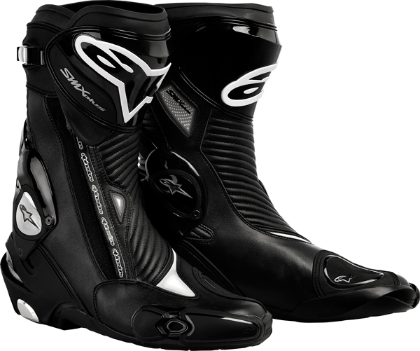 Alpinestars S-MX Plus motorcycle boots black
