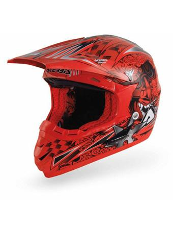 Red Snake Red Cross helmet Acerbis