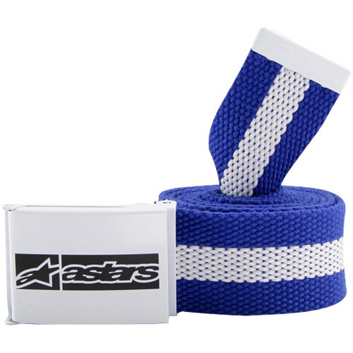 Alpinestars texture snap belt royal blue