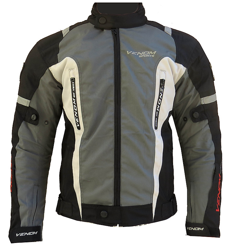 Venom Speed 3 layers jacket black grey