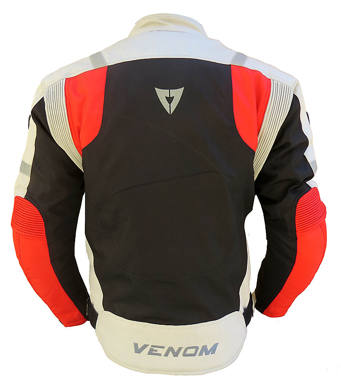 Venom Speed 3 layers jacket black red silver