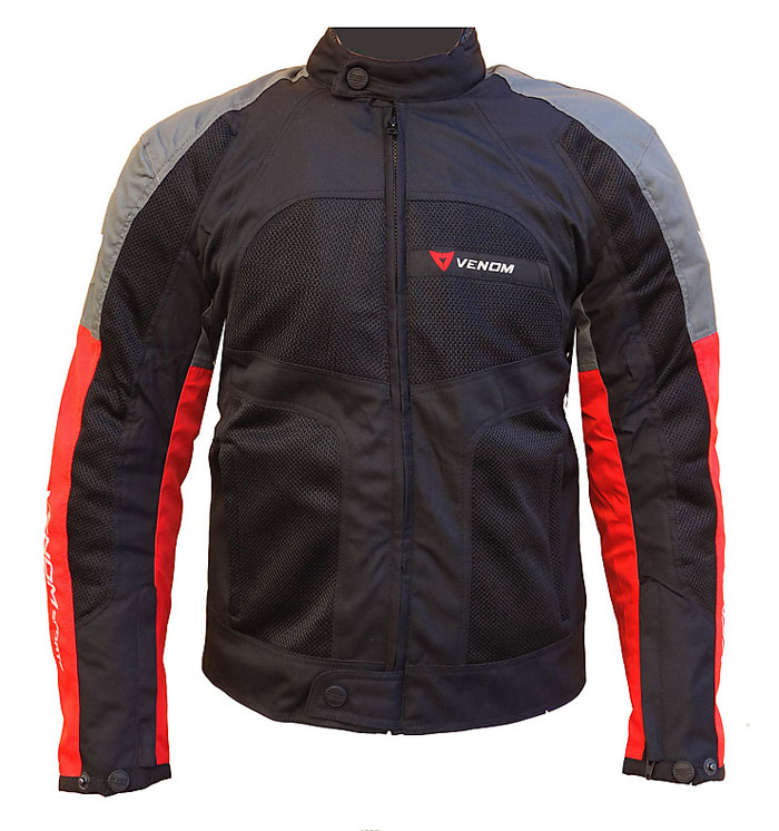 Venom Sport Air all seasons jacket Grey Red