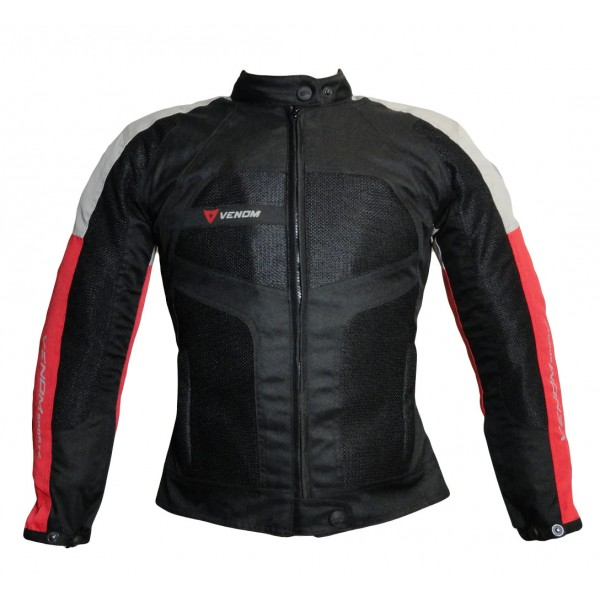 Venom Sport Air woman all seasons jacket Black Red
