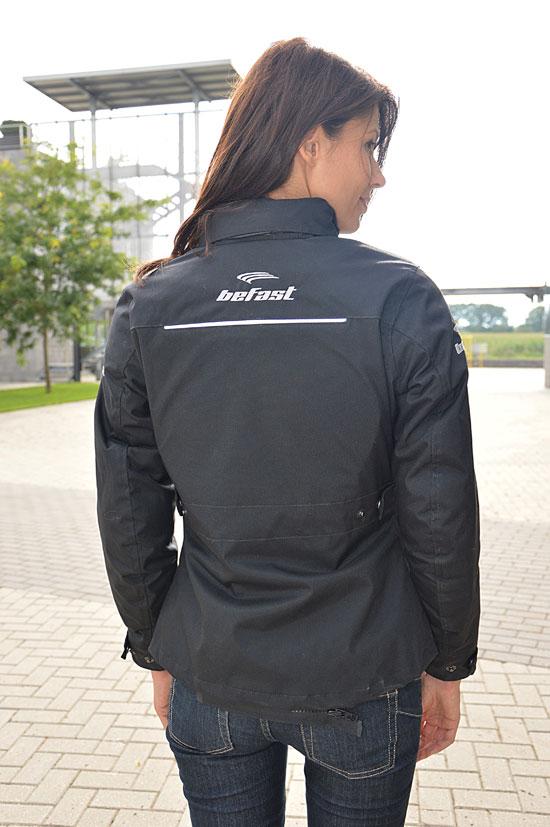 Befast Phanter City Black motorcycle woman jacket