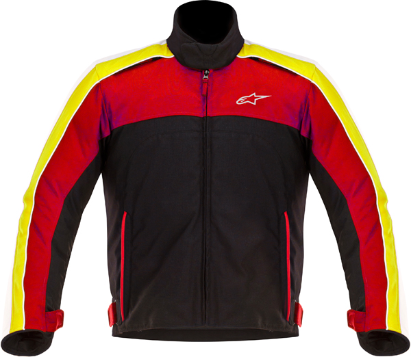 Alpinestars SOLARIS textile jacket black-white-red-yellow