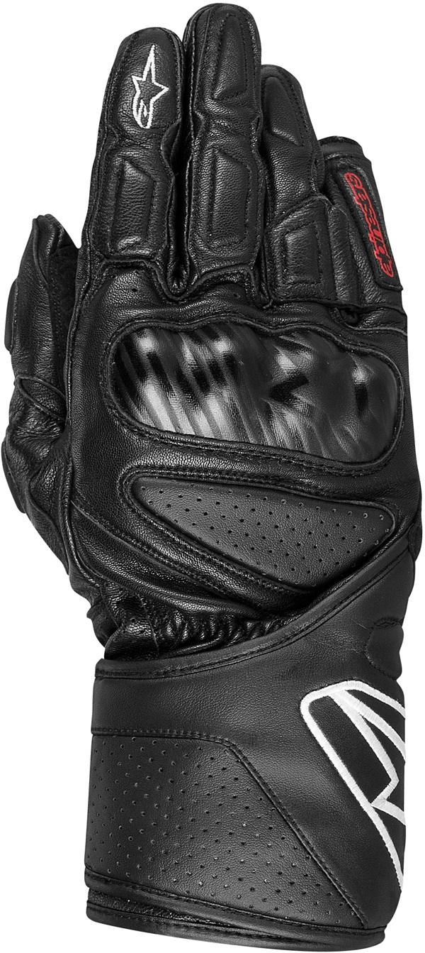 Alpinestars SP-8 leather gloves black