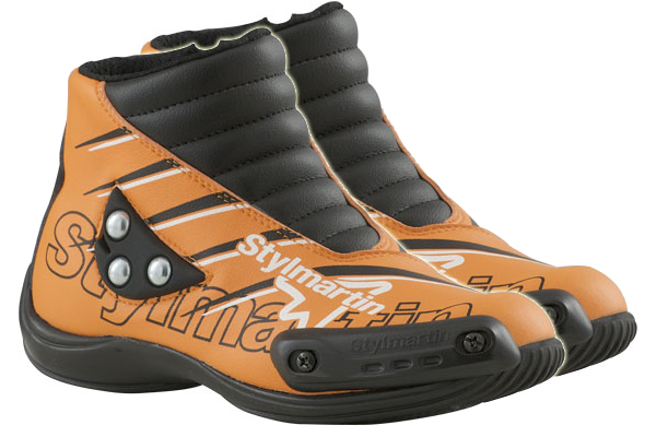 Stylmartin Speed JR S1 kid Minimoto Shoes orange
