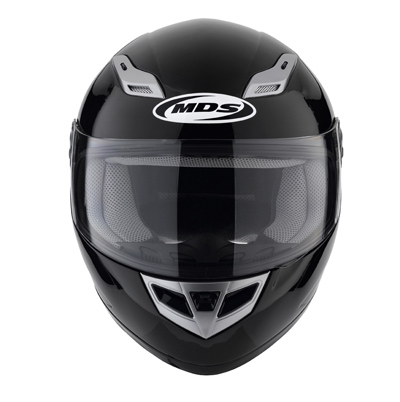 MDS by AGV Sprinter Mono Full Face Helmet - Col. Gloss Black