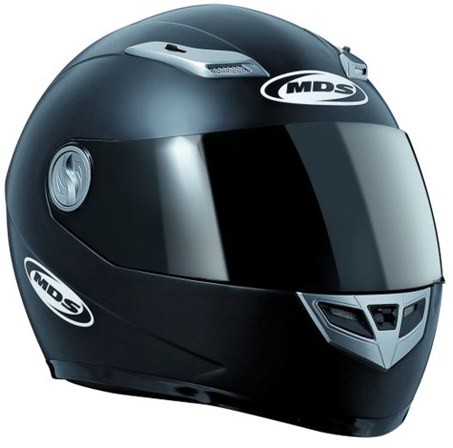 Casco moto Mds by Agv Sprinter Mono nero opaco
