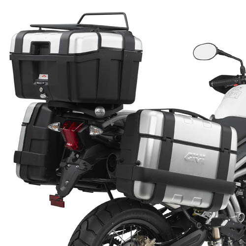 Givi luggage rack for Triumph
