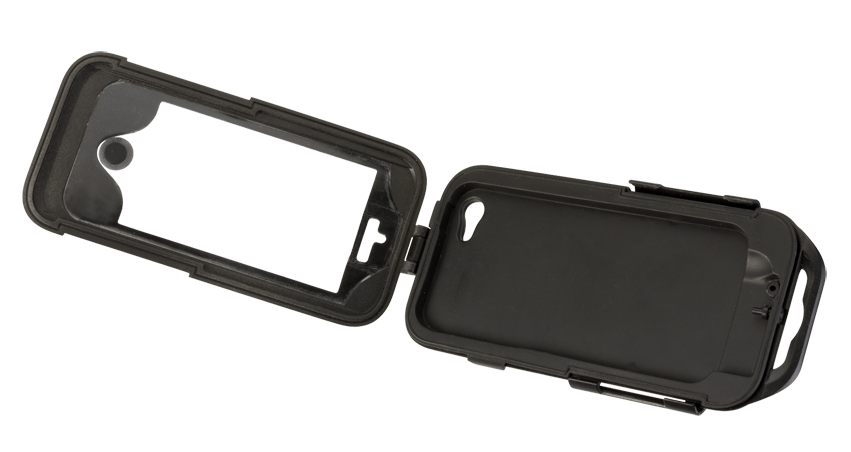 Cellular line for non-tubular handlebars IPhone5 holder