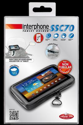 Supporto porta Tablet 7 manubri non tubolari Cellular Line