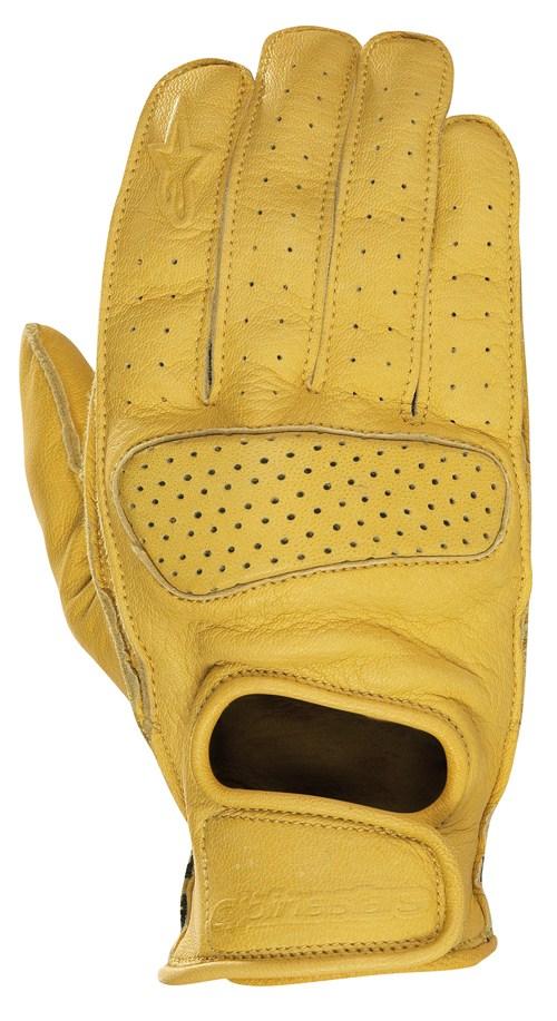 Alpinestars Stella Hero women leather gloves khaki 351258