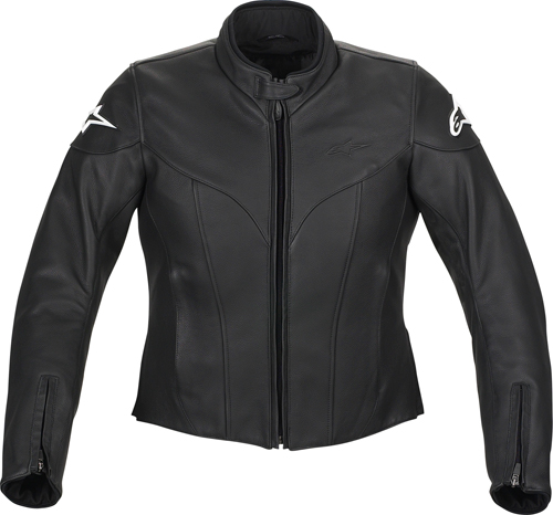Alpinestars Stella Ice leather women jacket black