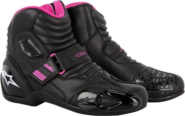 ALPINESTARS Stella SMX 1.1 women riding boots black-fuchsia