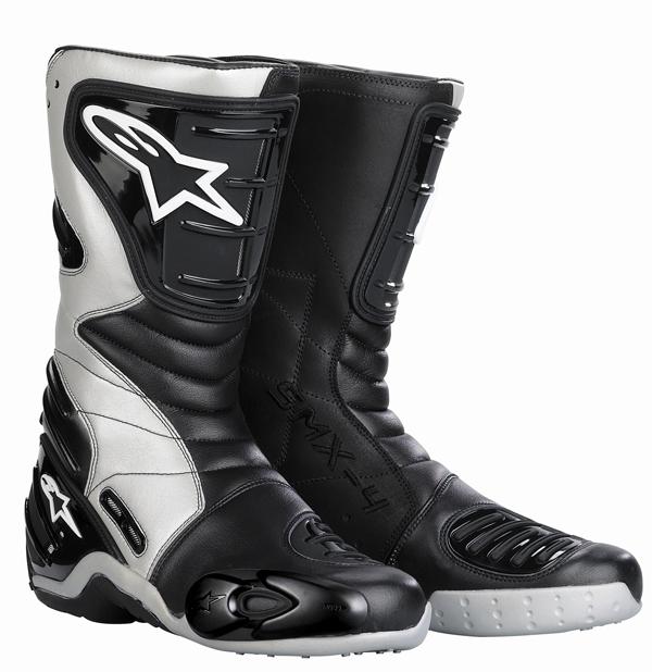 Alpinestars Stella S-MX 4 women's boots black-silver