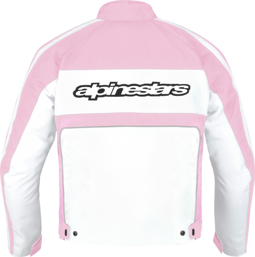 Alpinestars Stella T-Dyno Waterproof women jacket white-pink