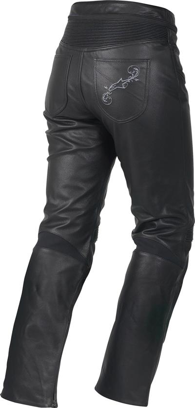 Alpinestars Stella Tyla leather women pants black