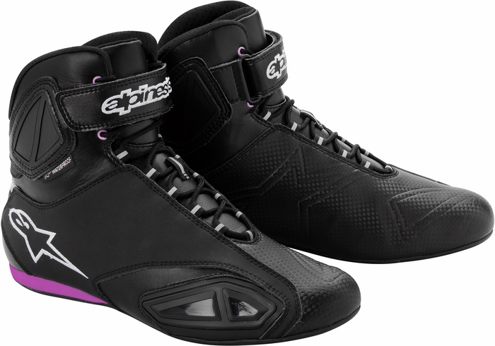 Alpinestars Stella Fastlane Wp lady shoes black pink