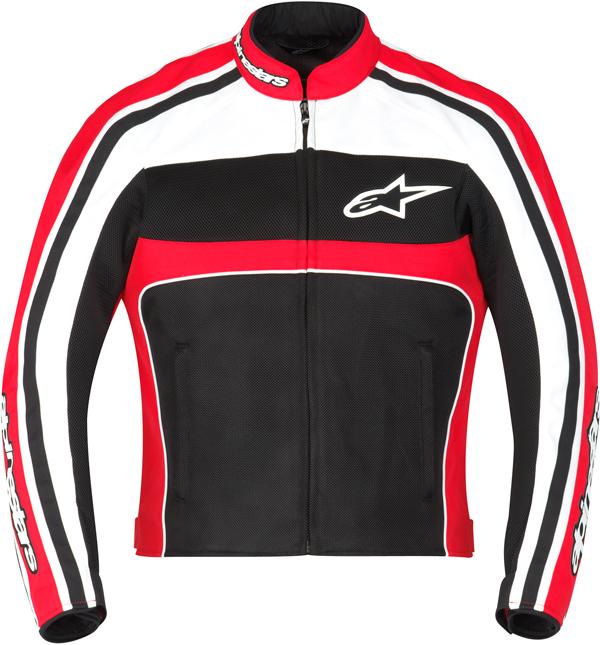 Alpinestars Stella T-Dyno Air jacket Black-red-White