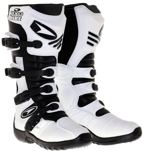 AXO Dart off road boots White