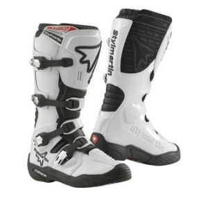 Boots Off Road Gear Stylmartin white