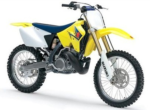 Kit plastiche moto Ufo Suzuki RMZ 250cc 07-08 Bianco