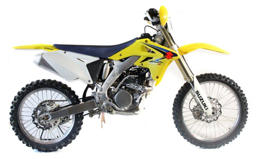 Ufo replacement plastics Suzuki RMZ 250cc 2009 White