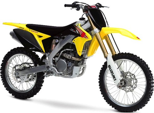 UFO plastic kit bike 250cc Suzuki RMZ 2013 Yellow