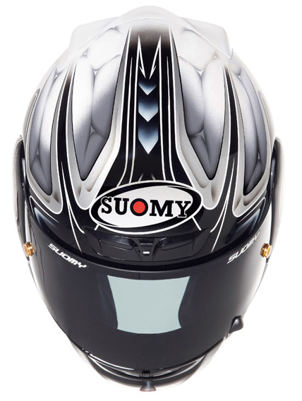 SUOMY Apex coll  full-face helmet silver