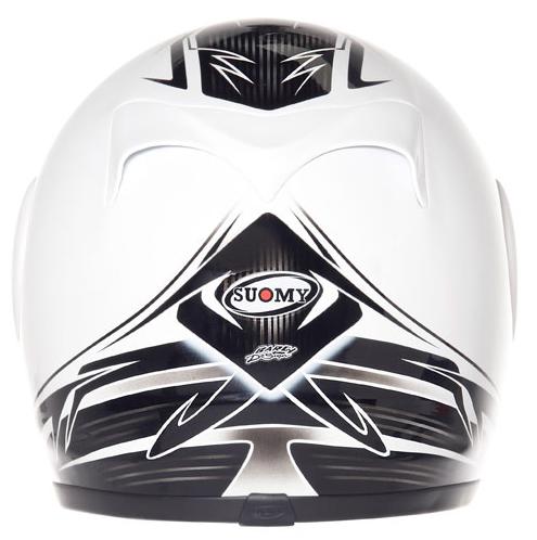 Casco moto integrale Suomy Apex 60's Legend bianco