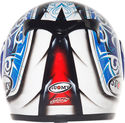 SUOMY Apex Tornado full-face helmet blue-red