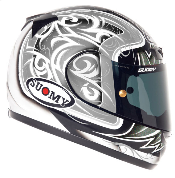 SUOMY Apex Tornado full-face helmet silver-anthracite