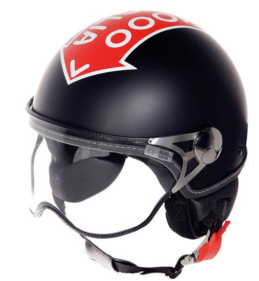 Casco moto Suomy 1000 Miglia Freccia Rossa nero