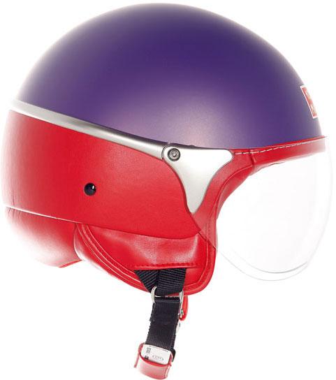Casco moto Suomy 1000 Miglia Chrono viola opaco