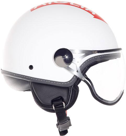 Casco moto Suomy 1000 Miglia Freccia Rossa bianco opaco
