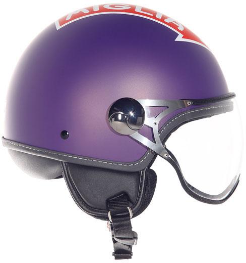 Casco moto Suomy 1000 Miglia Freccia Rossa viola opaco