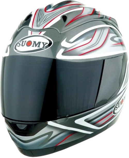 Casco integrale Suomy Graphic antracite