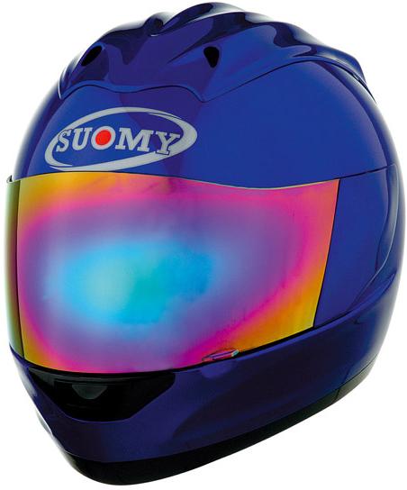 SUOMY Trek Plain full-face helmet blue