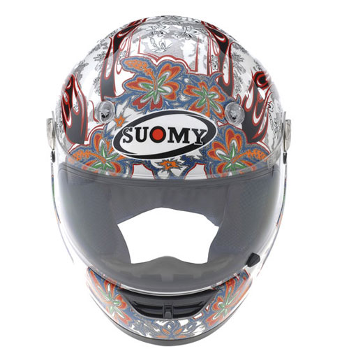 SUOMY Vandal Flower full-face helmet