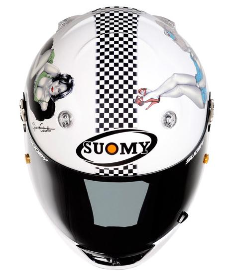 Casco moto integrale Suomy Vandal La Cocca