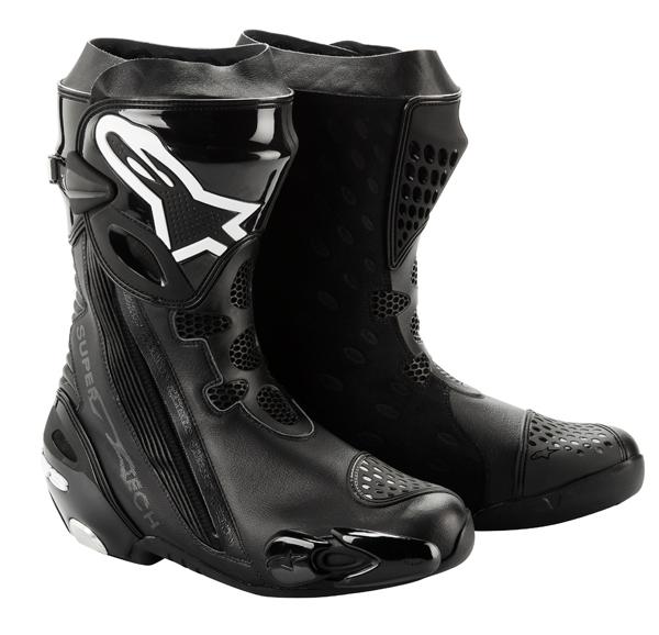 Stivali moto racing Alpinestars Supertech R 2012 neri