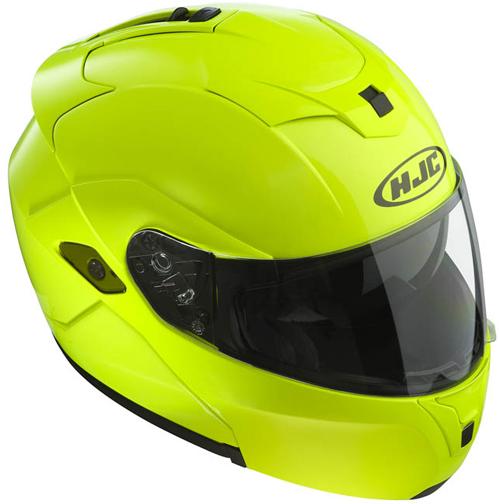 HJC SYMAX III flip off helmet Fluo Yellow