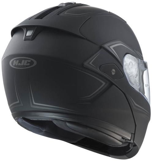 HJC SYMAX III flip off helmet Shadow II MC5F