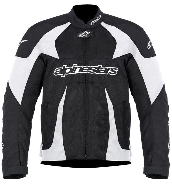 Giacca moto Alpinestars T-GP PLUS AIR nera bianco