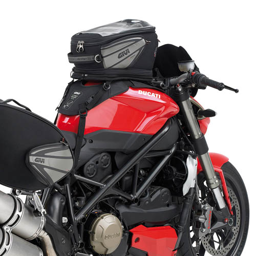 Universal base for serbetoio bags Givi
