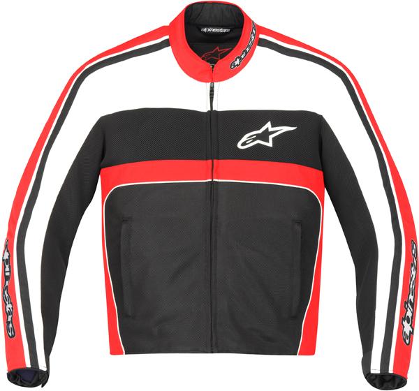 Giacca moto Alpinestars T-Dyno Air Nero-rosso-bianco
