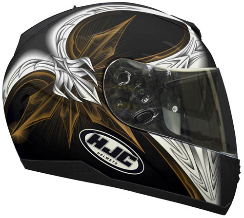 Casco moto integrale HJC FS11 Tapetop MC15
