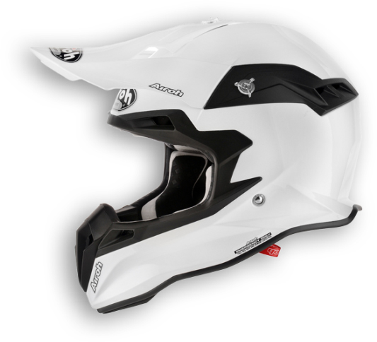 Airoh Terminator Color off-road helmet white pearl