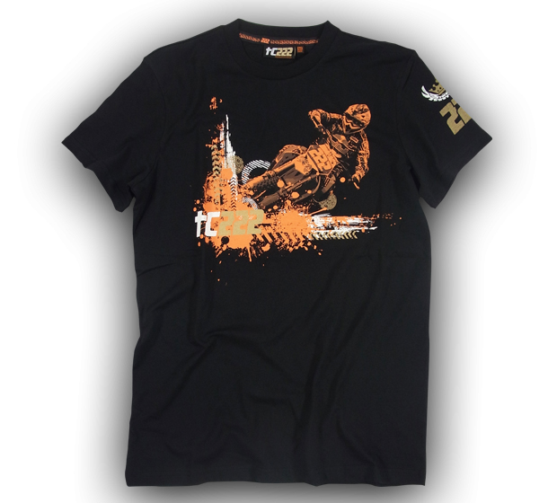 TC222 T-shirt Skid black